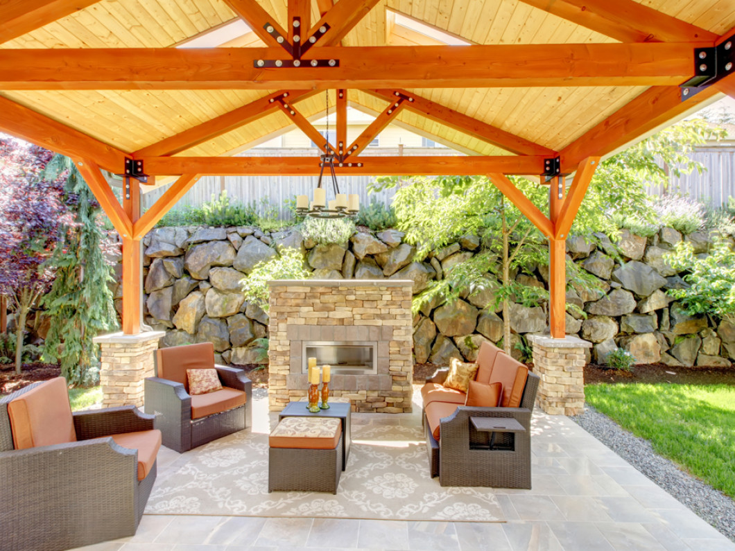 Add shade to your patio